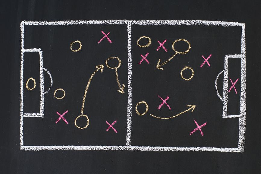 Assistenttræner - Fodbold taktik